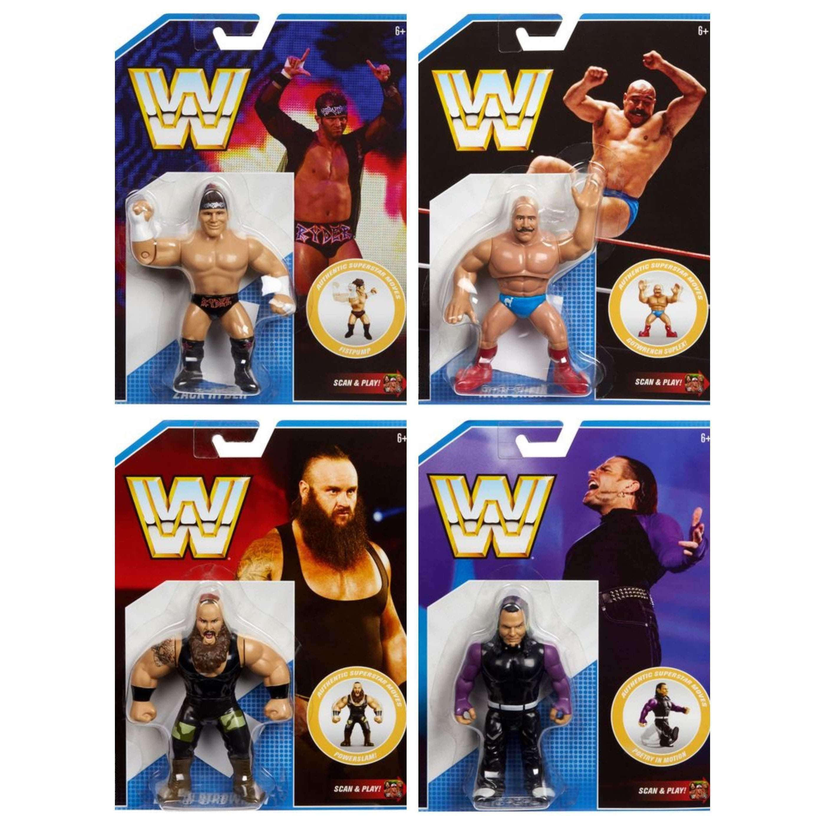 Image of WWE Retro Series 8 - Set of 4 - MARCH 2019