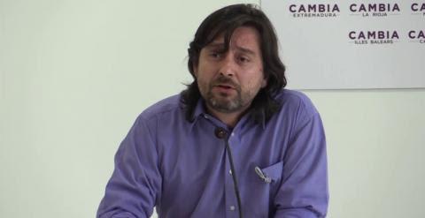 Rueda de Prensa del Consejo de Coordinación de Podemos