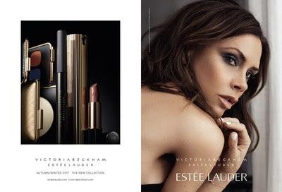 Victoria Beckham lidera la campaña publicitaria para la nueva colección de maquillaje Victoria Beckham Estée Lauder que debuta en septiembre. Crédito fotográfico de imagen de Victoria: Lachlan Bailey. Crédito fotográfico para imagen del producto: Kanji Ishii. (PRNewsfoto/Estee Lauder)