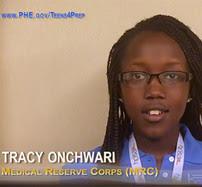 Tracy Onchwari, Medical Reserve Corp (MRC)