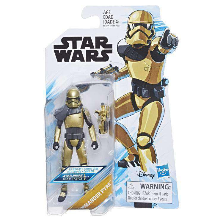 Image of Star Wars Resistance Wave 1 - Commander Pyre - FEBRUARY 2019