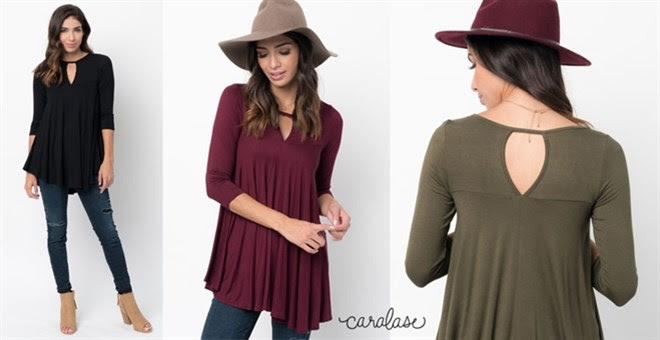 Keyhole Swing Tunic + More!