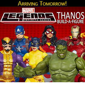 AVENGERS INFINITE LEGENDS WITH THANOS BAF