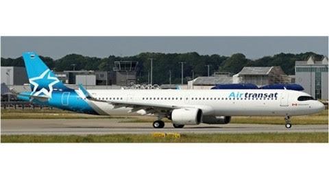 Airbus A321neo Air Transat C-GOIF | is due: August 2019