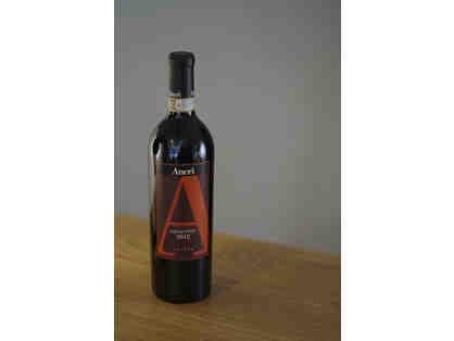 Bottle of Amarone Aneri Wine 2012 Vintage