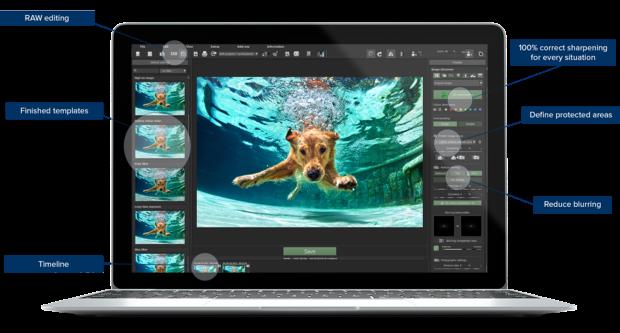 SHARPEN projects 3 professional Screenshot