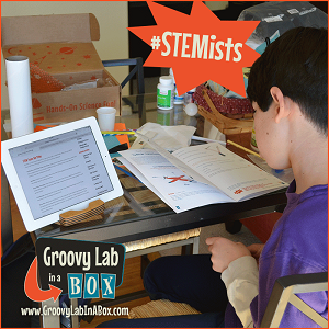 Make learning fun with a Groovy Lab in a Box subscription box.