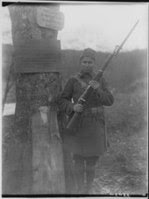 Doughboy on guard occupied Germany
