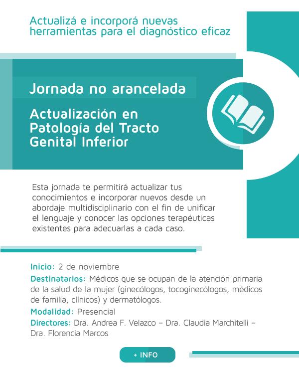 Actualización en Patología del Tracto Genital Inferior