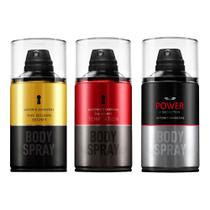 Antonio Banderas Golden Secret The Secret Temptation Power of Seduction Kit  3 Body Spray 250ml
