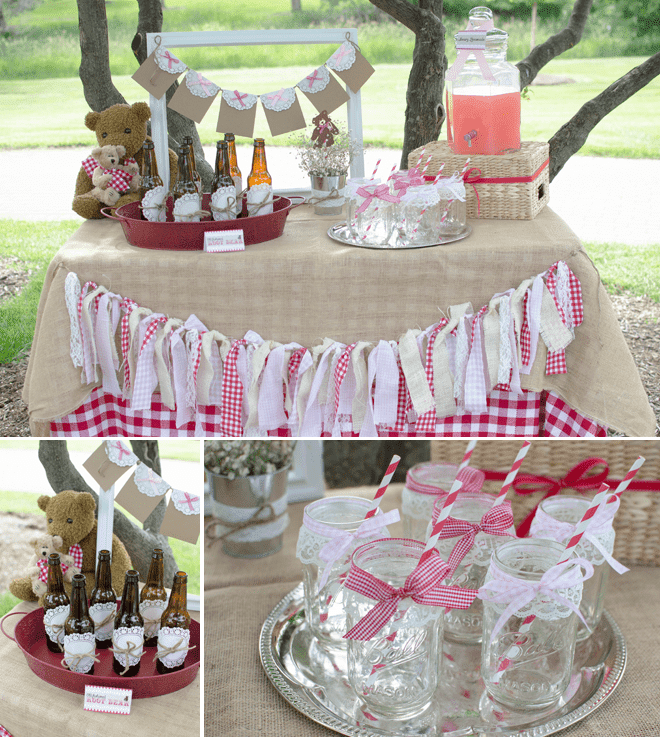 CUTE Teddy Bear Picnic Birthday Photos + Inspiration!