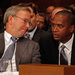 David C. Drummond, the chief legal officer of Google, right, with Eric E. Schmidt, Google's executive chairman.