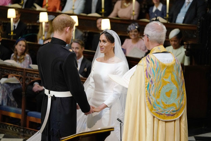 Image result for harry and meghan church wedding