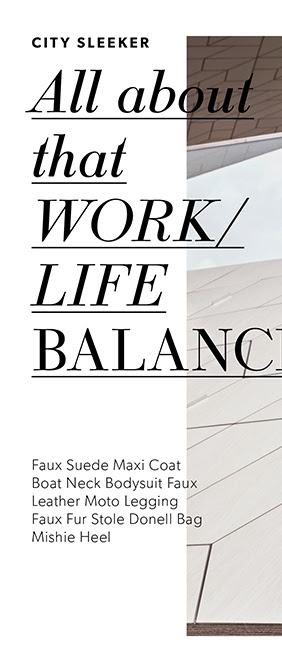 All About That Work/Life Balance