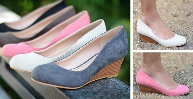 HOT!! Fall Suede Wedges...