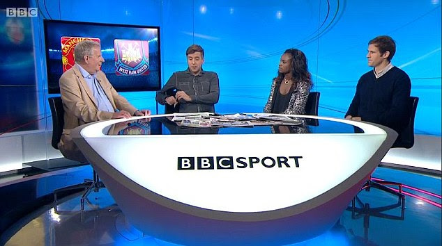 Eni Aluko makes history by becoming the first female Match of the Day pundit....and doesn't hold back on Wayne Rooney