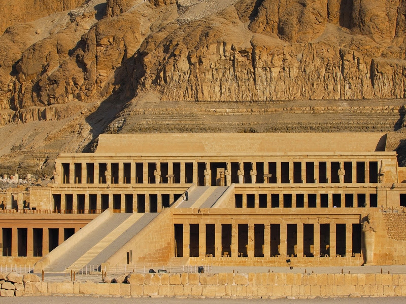 Image result for pictures of temple of hatshepsut