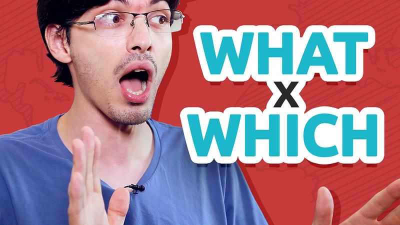 WHAT x WHICH | Qual a diferença?