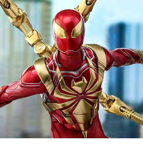 Spider-Man (2018 Video Game) VGM38 Spider-Man (Iron Spider Armor) 1/6 Scale Collectible Figure