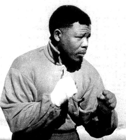 Imagen de Nelson Mandela en la década de los 60.
