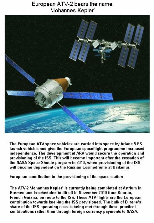 Fig 6 ESA's ATV for ISS