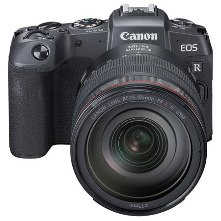 EOS RP Mirrorless Digital Camera with Canon RF 24-105mm F4 L IS Lens