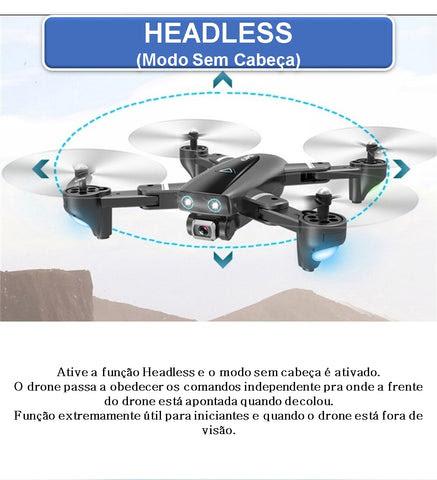 Drone s167 4k com camera hd