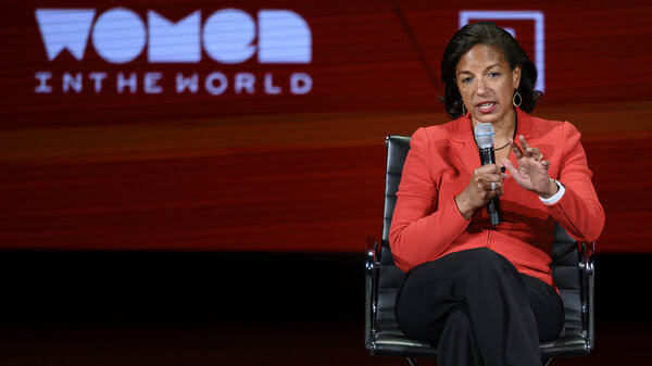 Like Joe Biden, Susan Rice, seen here in April 2019, has deep experience with foreign policy issues.