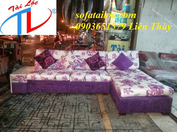 Sofa phòng khách đẹp Tài Lộc