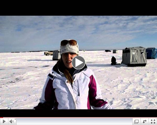How to Ice Fish on Devils Lake