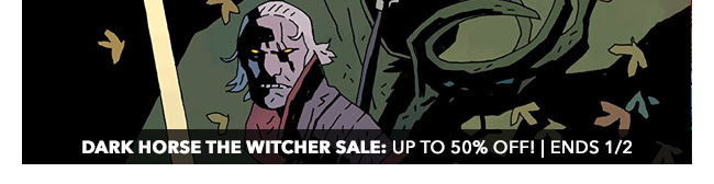 Dark Horse The Witcher Sale: up to 50% off! | Ends 1/2