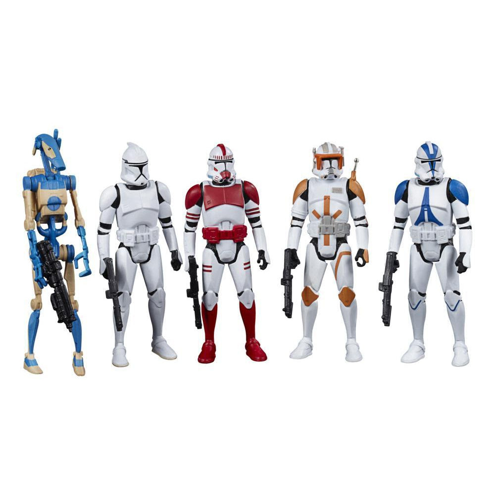 Image of Star Wars Celebrate the Saga Galactic Republic 3 3/4-Inch Action Figure Set - OCTOBER 2020