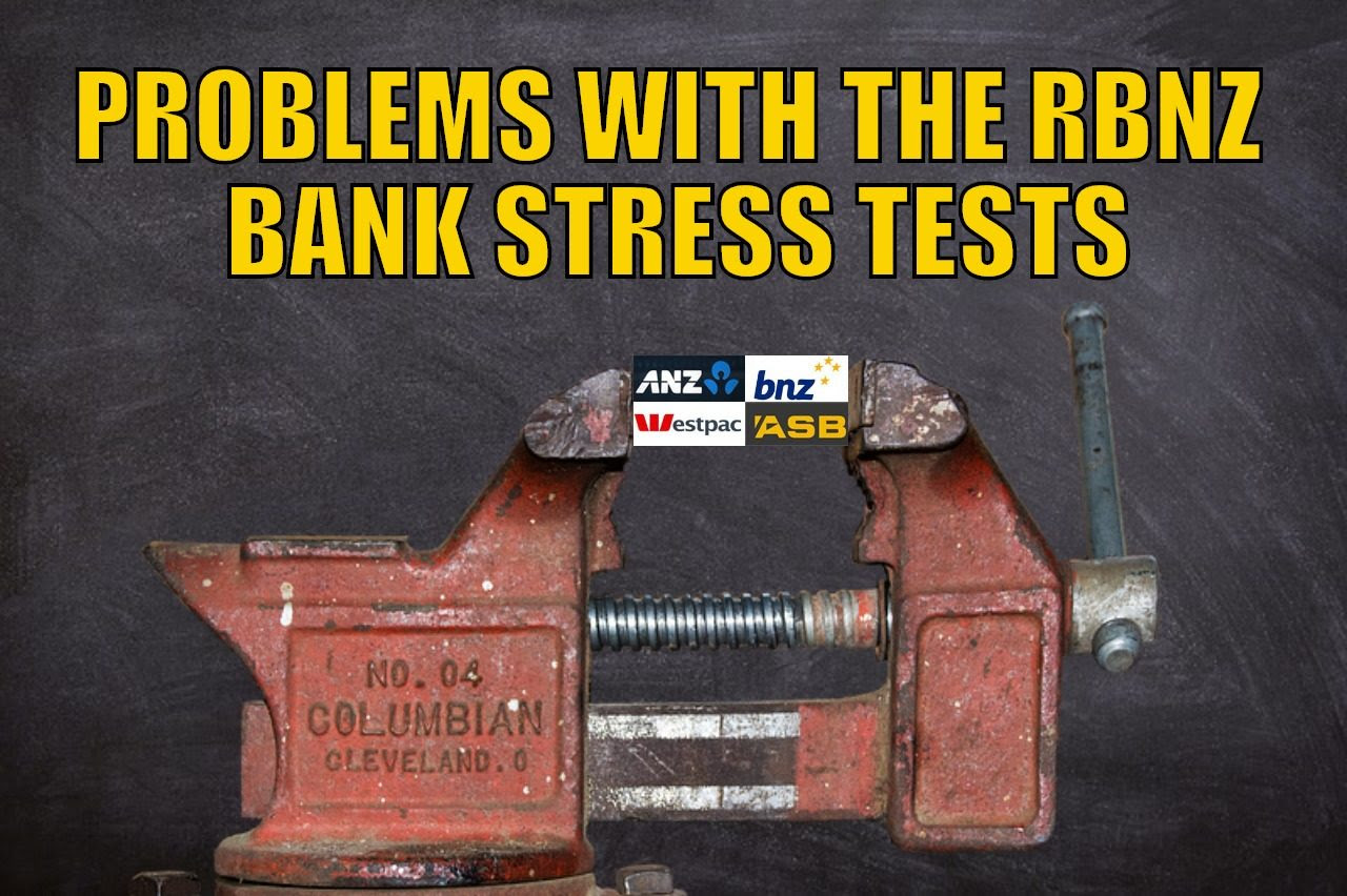 Problems with the RBNZ Bank Stress Tests