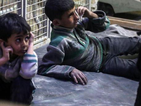 Bimbi siriani © EPA
