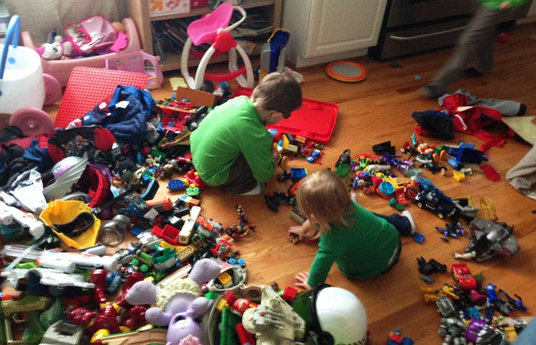 Massive toy mess
