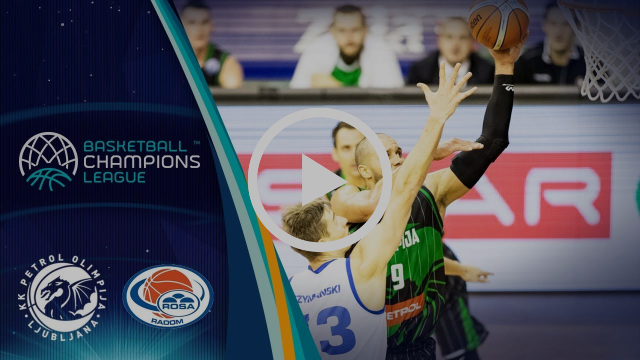 Petrol Olimpija v Rosa Radom - Highlights - Basketball Champions League