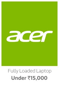 Fully Loaded Laptops under Rs.15000