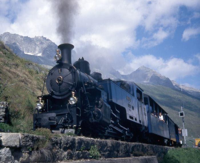 Đầu máy xe lửa sau khi được phục hồi