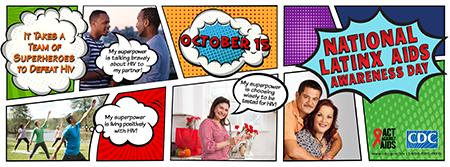National Latinx AIDS Awareness Day October 15