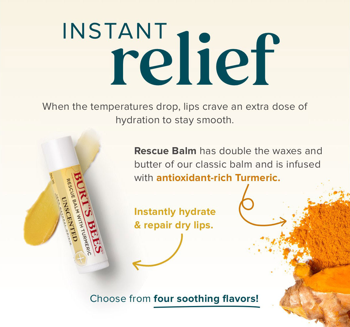 Rescue Balm for instant relief