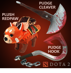 DOTA 2 PLUSHES AND REPLICAS