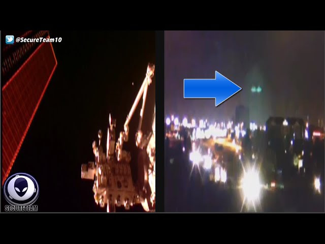 UFO News ~ MASSIVE Golden UFO Orbiting EARTH and MORE Sddefault