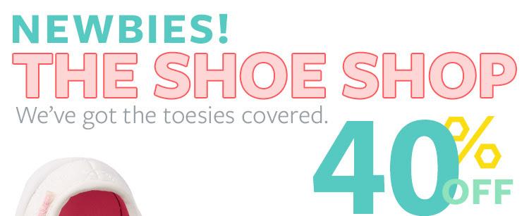 The shoe shop. 40% OFF
