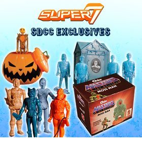 SUPER 7 SDCC 2015 EXCLUSIVES