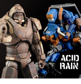 ACID RAIN FIGURES & VEHICLES