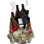 Five Wine Basket