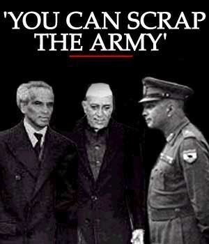 Scrap the army - The-political-view-in-India