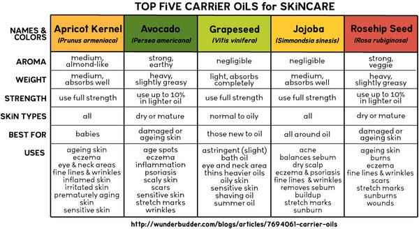 Image result for carrier oils