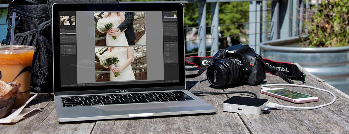 OWC USB-C Travel Dock Photo - photographer lifestyle