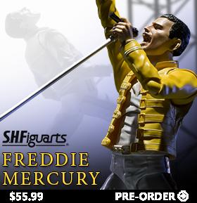S.H. FIGUARTS FREDDIE MERCURY